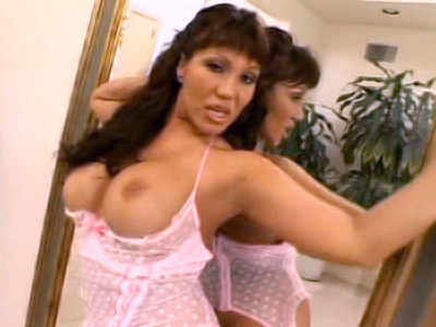 Busty pornstar Ava Devine knows her way around men. She enjoys teasing them with her hot body, massive set of titties and insatiable appetite for cock sucking and hardcore fucking. Here she hits it off with two hunks and takes cock humping from both ends.